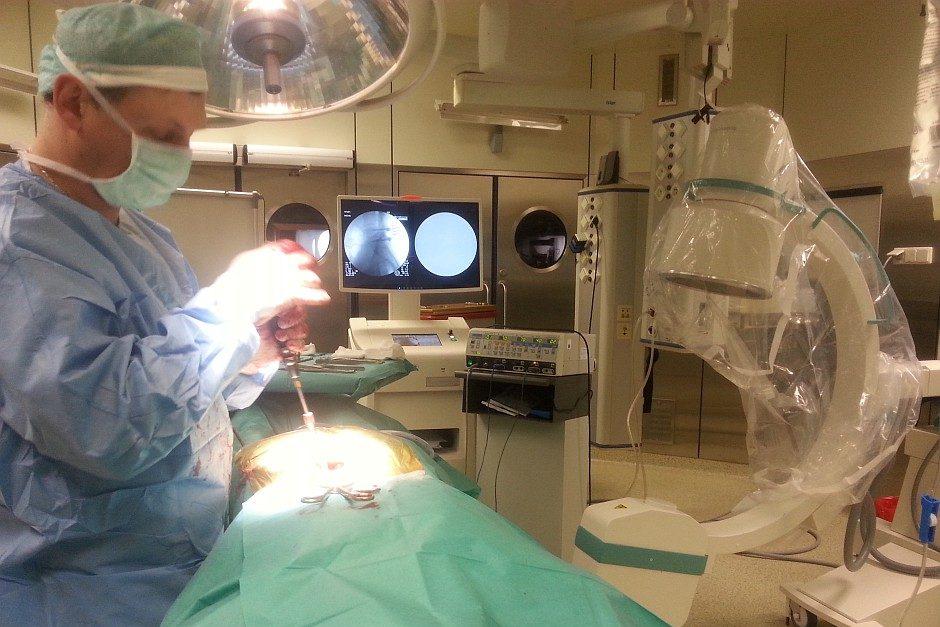 Operacja w Specjalistycznym Centrum Medycznym