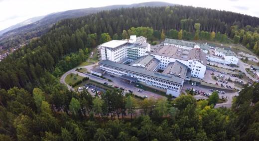 Specjalistyczne Centrum Medyczne z lotu ptaka