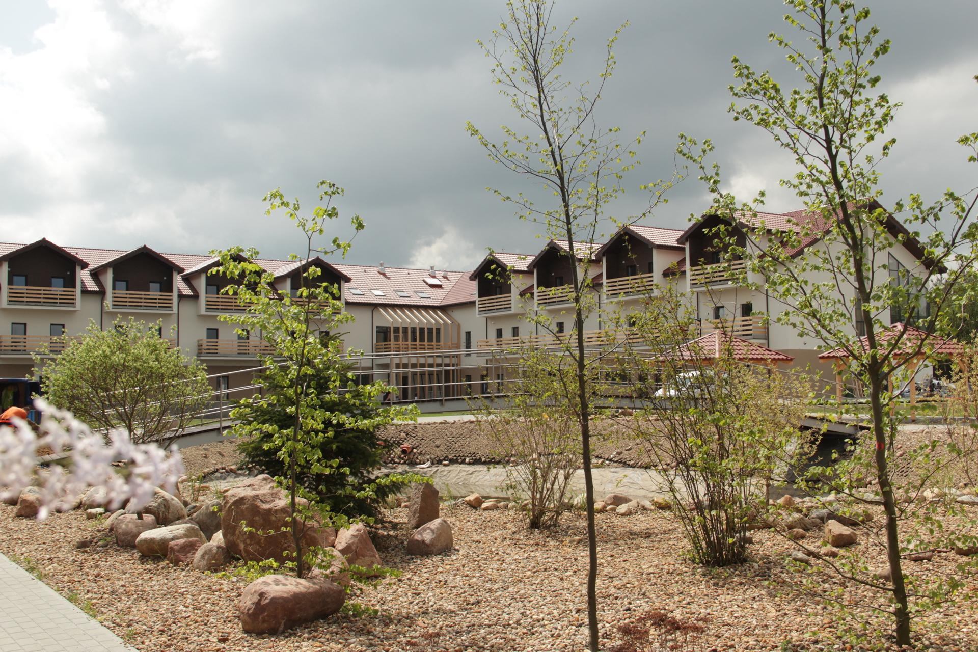 Budynek Leśnego Domu Seniora