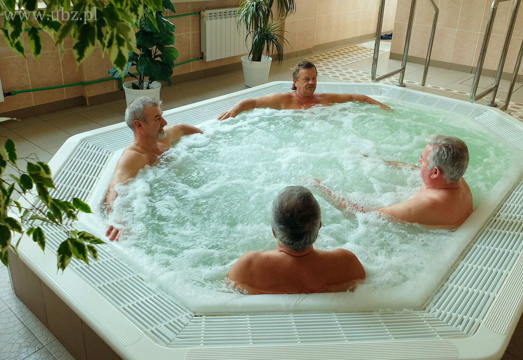 Brine bath mini pool